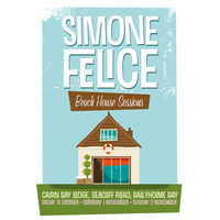 Simone Felice Poster for Open House Festival