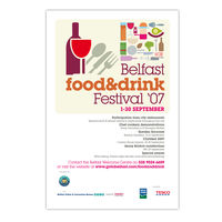 Food & Drink Festival Aertwork