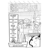 Sozo colouring Sheet