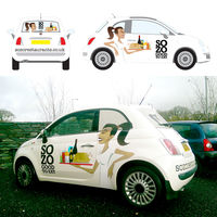 SOZO Fiat 500 Car Wrap Artwork