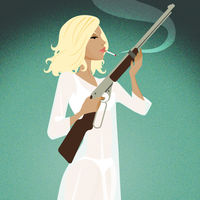 Betty Draper (January Jones) for Planet Pulp Gallery