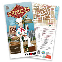 Belfast Bred Flyer & map