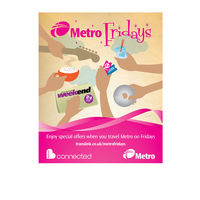 Design & Illustration created for Belfast's Metro Fridays 2008 print campaign