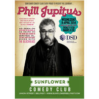 Sunflower Comedy – Phill Jupitus