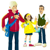 Kidzsafe Character Designs for Northern Ireland Electricity